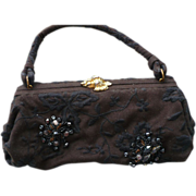 Koret Embroidered Beaded Purse
