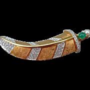 Rhinestone Sword Pin