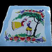 SOLD Peter Hunt Handkerchief