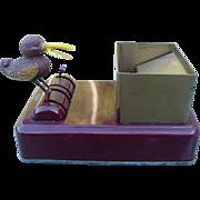 Movable Bird Cigarette Box