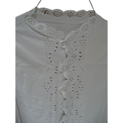 Victorian Eyelet Nightgown