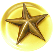 Bakelite Star Button