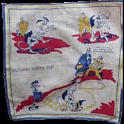 SOLD Napoleon Keeps Fit Handkerchief