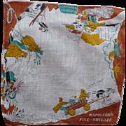 Napoleon's Fire Brigade Handkerchief