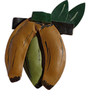 Leather Banana Pin