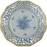 Schumann Forget me Not Plate