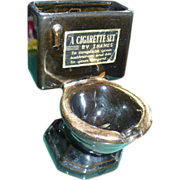 Toilet Ceramic Ashtray