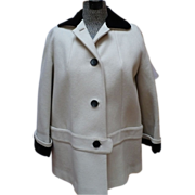 1950's White Wool Jacket