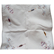 Embroidered Cocktail Tablecloth