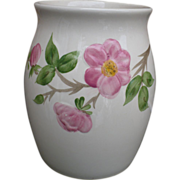 Franciscan Desert Rose Cookie Jar Utensil Holder