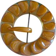 SALE Bakelite Belt Buckle