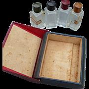 Leather Case Perfume Bottles