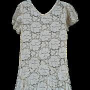 1933 Lace Dress