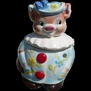 Enesco Petunia Pig  Small Jar