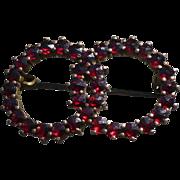 Bohemian Garnet Pin