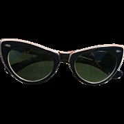 1960's Cats Eye Sunglasses