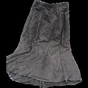 Black Suede Skirt by Siena