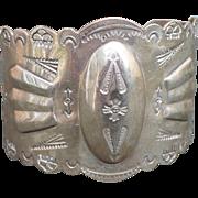 SALE Sterling Southwest Cuff Bracelet