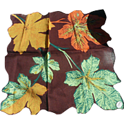 Autumn Leaves Handkerchief
