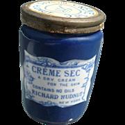 1906 Richard Hudnut Creme Jar