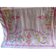 SOLD Sweet Shoppe Tablecloth