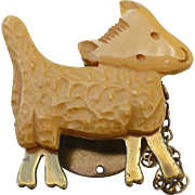 Bakelite Snap-on Lamb Pin