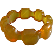 Bakelite Butterscotch Bracelet