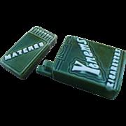 Cigarettes Matches Salt & Pepper Set
