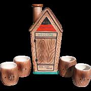 Ceramic Outhouse Shot Set