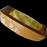 Two Color Bakelite Bracelet