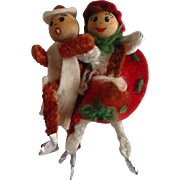 Chenille Ice Skaters
