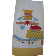 SOLD Mammy Apples Towel