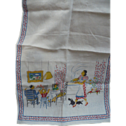 Family Print Towel