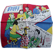 Sweet Stuff Soda Shoppe Handkerchief
