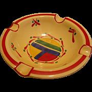 Czech Pottery Ashtray