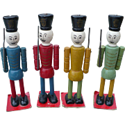 Wood Toy Soldiers Russian