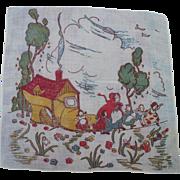 Lady Shoe Children's Handkerchief