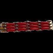 Chrome Deco Plastic Bracelet