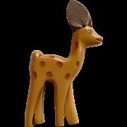 Bakelite Deer Pin