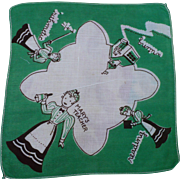 SOLD Teacher Child's Handkerchief