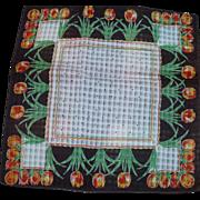 Print Tulip Handkerchiefs