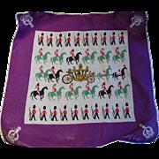 SOLD Tammis Keefe Queen Elizabeth Coronation Handkerchief