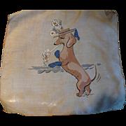 Burmel Dachshund Dog Handkerchief