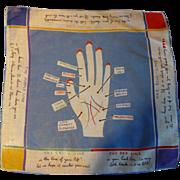 Hand Reading Handkerchief