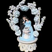 1947 Engagement  Cake Topper