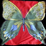 Butterfly Handkerchief