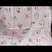 Pink Seasonal Children's Fabric