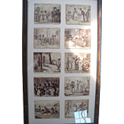 Black Americana Cabinet Cards John McGreer Framed