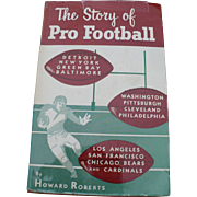 1953 Football Book First Edition Autographed