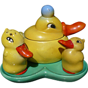 Duck Condiment Set